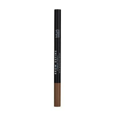 Mua Makeup Academy Brow Define Eyebrow Pencil With Blending Brush Mid Brown