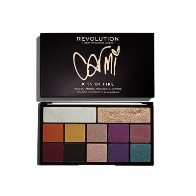 Revolution Beauty X Carmi Kiss Fire Palette