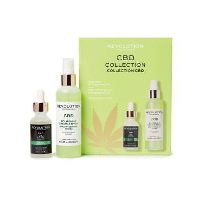 Revolution Skincare CBD Oil & Spritz Set