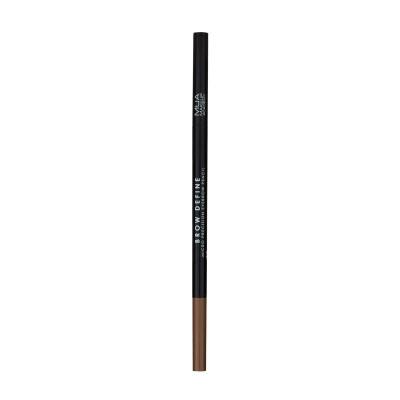 Mua Makeup Academy Brow Define Micro Eyebrow Pencil Mid Brown