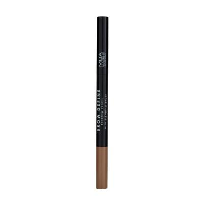 Mua Makeup Academy Brow Define Eyebrow Pencil With Blending Brush Light Brown