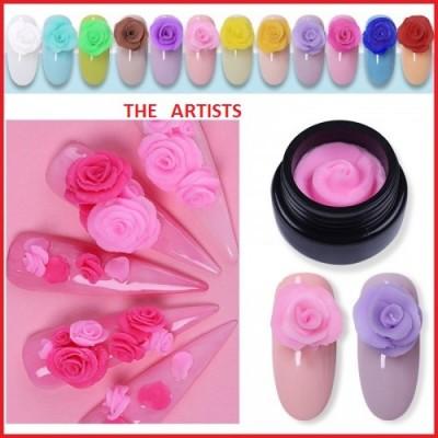 Plasteline gel Σετ 12 χρώματα